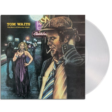 Tom Waits The Heart Of... LP (180g Clear Remastered) (Vinyl)