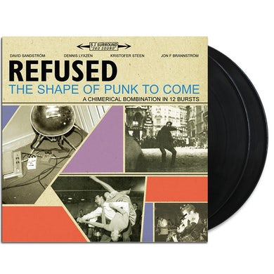 Refused - The Shape Of Punk To Come 2xLP (Black) (Vinyl)