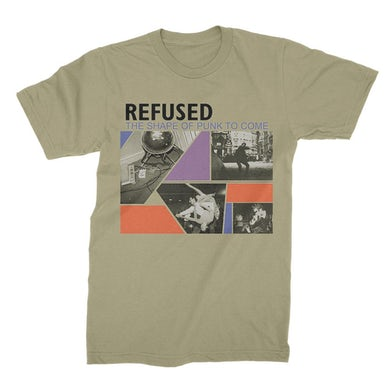Refused Shape Of Punk To Come Tee (Natural)