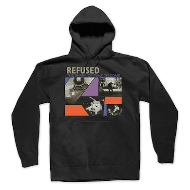 Refused Shape Of Punk Hoodie (Black)