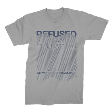 Refused Airwaves Tee (Light Grey)