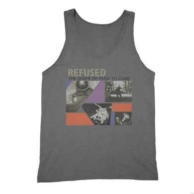 Refused Shape Of Punk To Come Tank (Heather Charcoal)