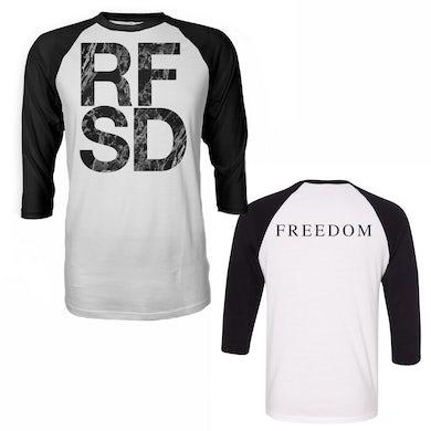 Refused RFSD Raglan (White/Black)
