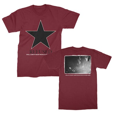 Refused Shitty Band Tee (Maroon)