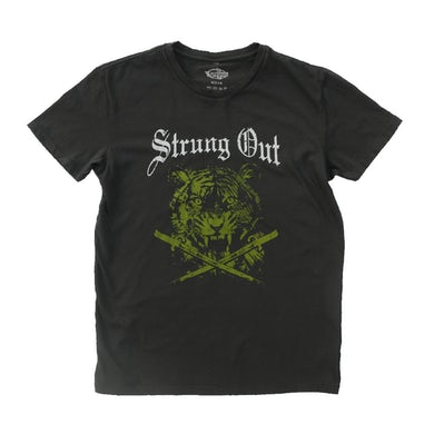 Strung Out Limited Edition Tiger Tee (Smoke)