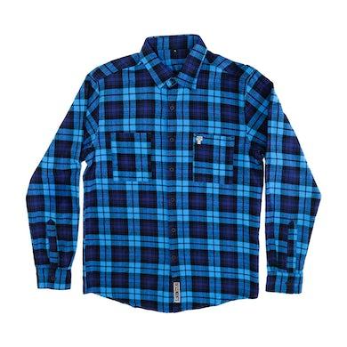 Milo Flannel (Blue/Black)