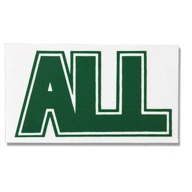 All Logo Sticker (Green)