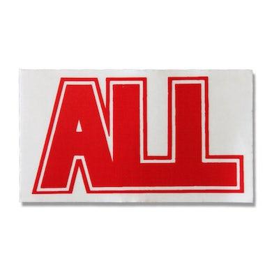 All Logo Sticker (Red)