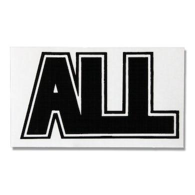 All Logo Sticker (Black)