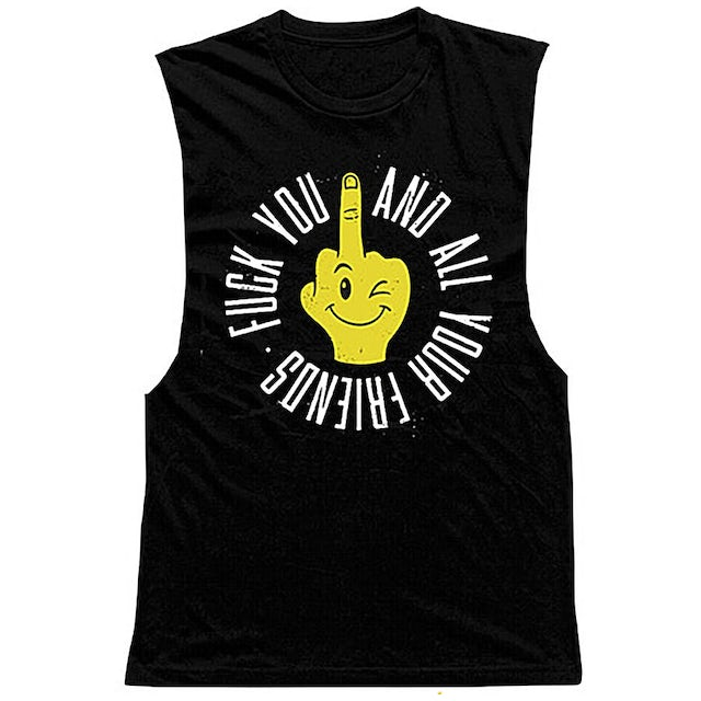 Falling In Reverse Fuck You And All Your Friends Tank (Black)