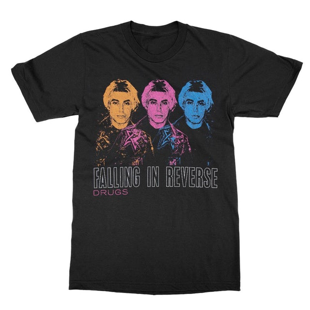 Falling In Reverse Ronnie x Three Tee (Black)
