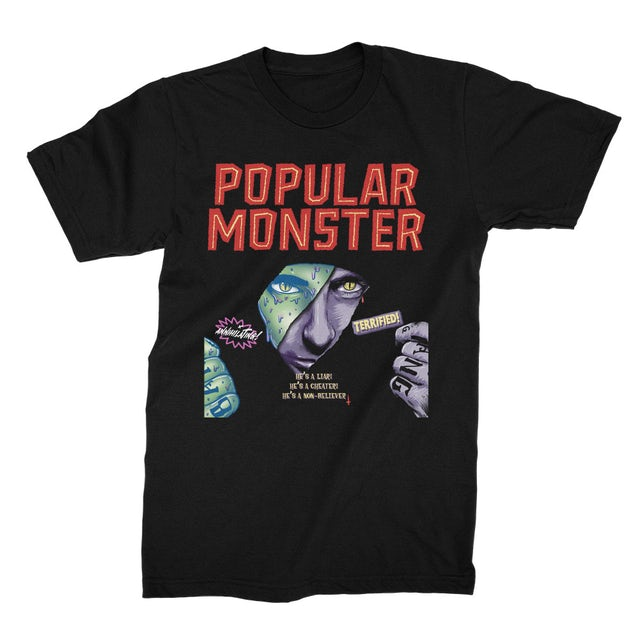 Falling In Reverse Popular Monster Tee (Black)