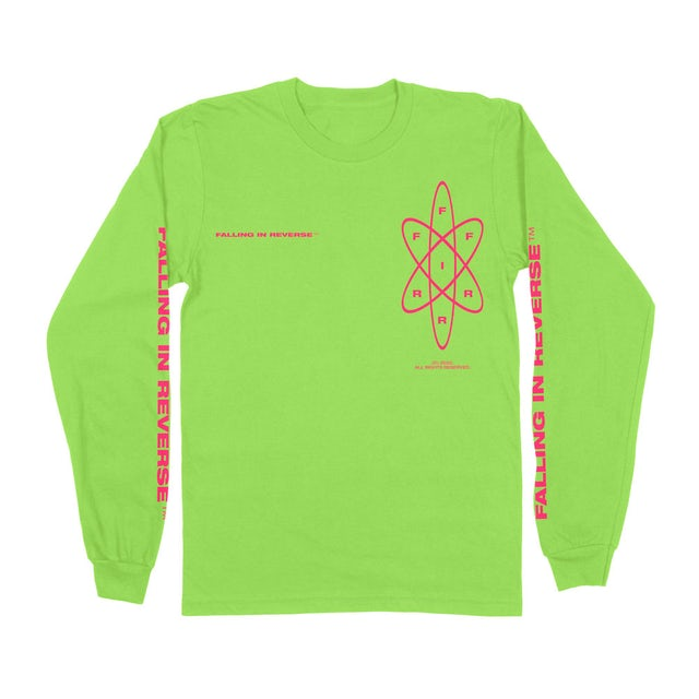 Falling In Reverse Atom Long Sleeve (Green)