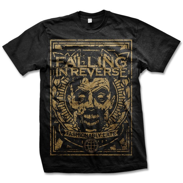 Falling In Reverse Fashionable Zombie Tee (Black)