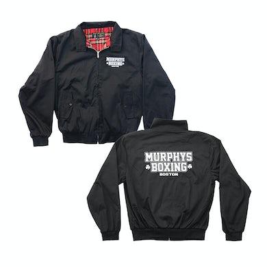 Dropkick Murphys Embroidered Murphys Boxing Jacket (Black)