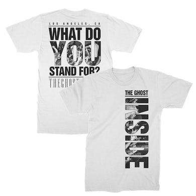 The Ghost Inside Stand For Tee (White)