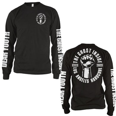The Ghost Inside Dear Youth Long Sleeve T-Shirt (Black)