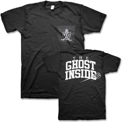 The Ghost Inside Hockey Pocket Tee (Black)