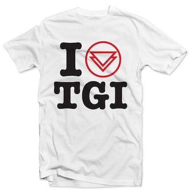 "The Ghost Inside ""I Heart TGI"" Tee (White)"