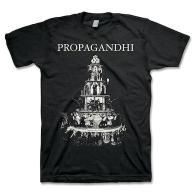 Propagandhi Pyramid Of Capitalism T-Shirt (Black)