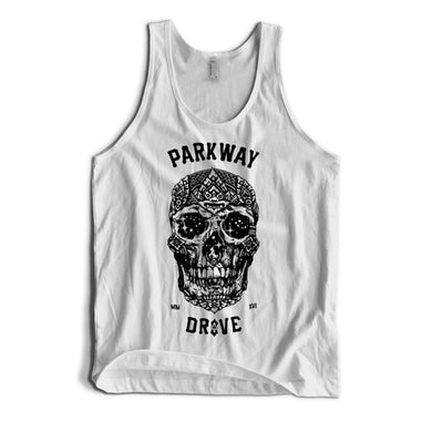 Parkway Drive 2016 Skull Tank (White)