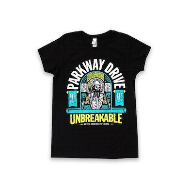 Parkway Drive Unbreakable 2016 Tour Women's Tee (Black)