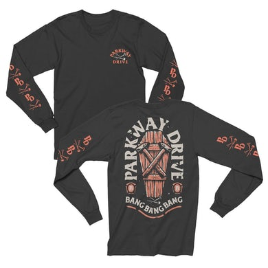 Parkway Drive Nails Long Sleeve Tee (Black)