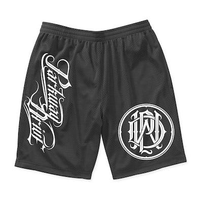 Parkway Drive Monogram Logo Athletic Shorts (Black)