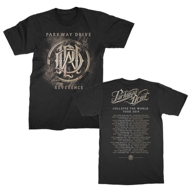 Parkway Drive Reverence 2019 World Tour Tee (Black)