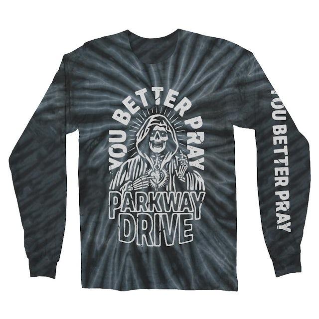 Parkway Drive You Better Pray Long Sleeve (Black Smoke Dye)