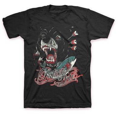 Parkway Drive Bear And Salmon T-Shirt (Black)