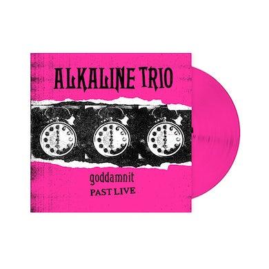 Alkaline Trio Goddamnit: Past Live LP (Pink) (Vinyl)