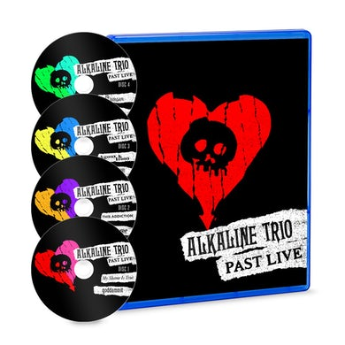 Alkaline Trio Past Live 4xBlu-ray