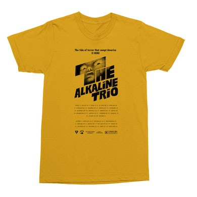 Alkaline Trio Shining Tee (Yellow)