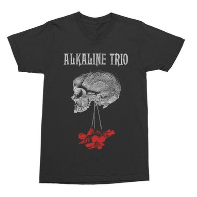Alkaline Trio Flowers Down Tee (Black)