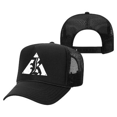 K Logo Trucker Hat (Black)