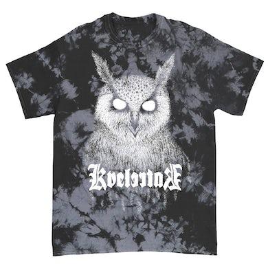 Barlett Owl Tee (Black/ Grey Dye)