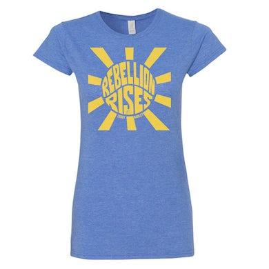 Women's Sunburst Tee (Blue)