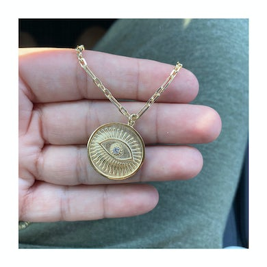 The Gold Eye Necklace