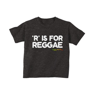 Ziggy Marley R is for Reggae Youth Tee (Charcoal Blk Heather)