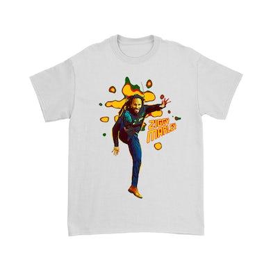 Ziggy Marley Kick T-Shirt (White)