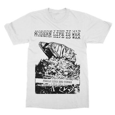 Modern Life Is War End Times Tee (White)