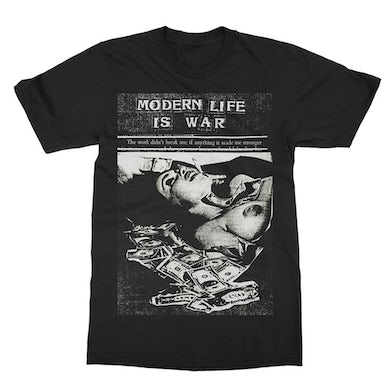 Modern Life Is War Money Tee (Black)