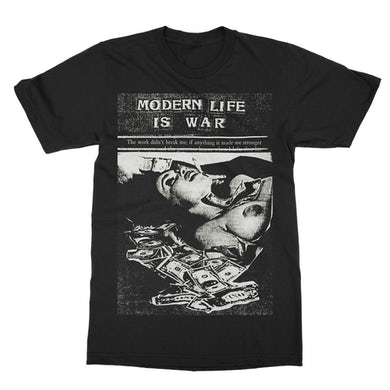 Modern Life Is War Money Tee (Black)