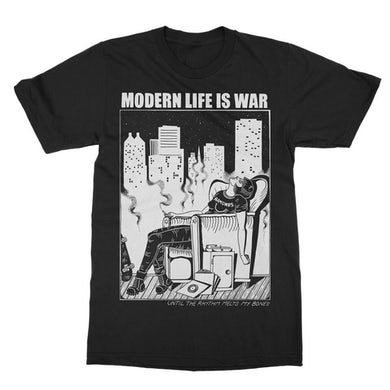 Modern Life Is War New Dead Ramones Tee (Black)