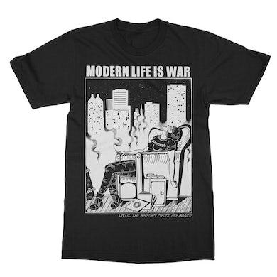Modern Life Is War New Dead Ramones Tee (Black)