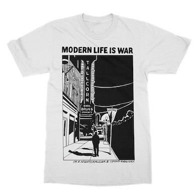 Modern Life Is War Night Crawler Tee (White)