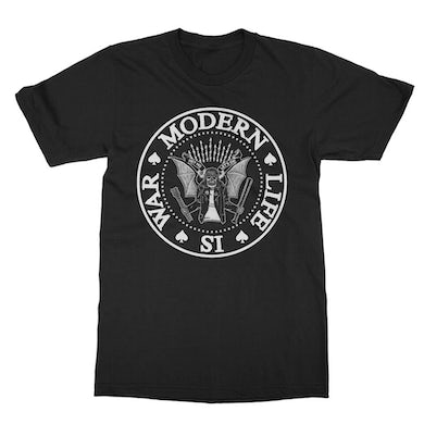 Modern Life Is War Old Dead Ramones Tee (Black)