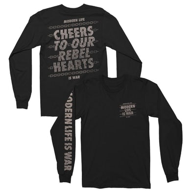 Modern Life Is War Cheers Long Sleeve (Black)
