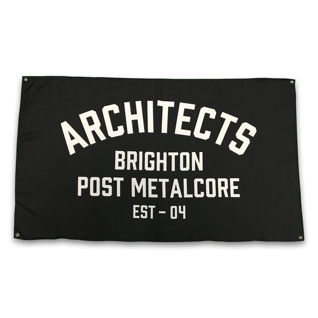 Architects Brighton Post Metalcore Flag (3'x5')
